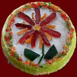 Cassata Siciliana di Anna D'Alessandro Allemand www.ilcorriererdelledonne.net